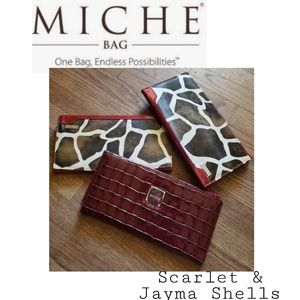 MICHE shells (3 avail)  2 Jayna & 1 Scarlet